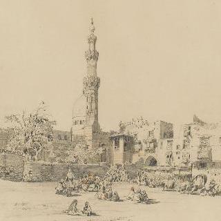카이로의 불락의 전경