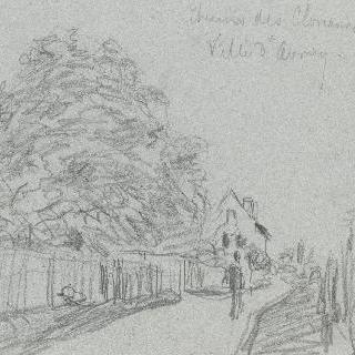 아브레이 도시의 클로소의 도로