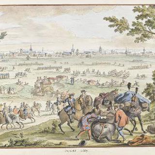 1667년 두에이. 17세기 왕들의 정복