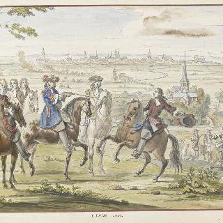 1667년 리슬. 17세기 왕들의 정복