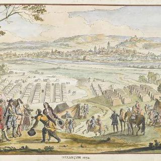 1674년 브장송. 17세기 왕들의 정복