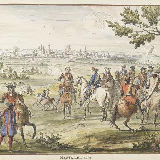 1673년 마스트리히트. 17세기 왕들의 정복