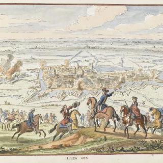 1678년 이프레. 17세기 왕들의 정복