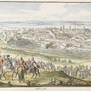 1678년 강드. 17세기 왕들의 정복