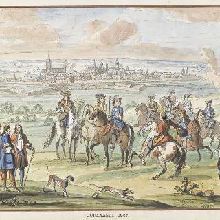 1667년 우드나르드. 17세기 왕들의 정복