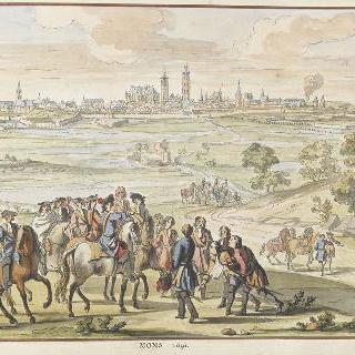 1691년 몽. 17세기 왕들의 정복