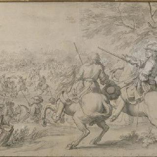 1667년 8월 31일 브뤼그 운하 부근의 스페인군의 패배