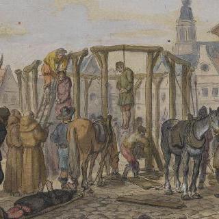 사형수들의 처형