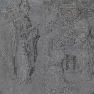서품을 받는 성직자