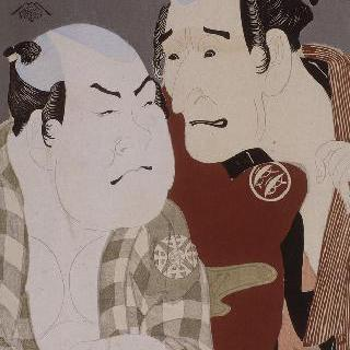 가부키 배우의 초상 (오쿠비에)