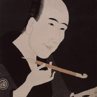 소설가 산토 쿄덴의 초상, 시리즈 : 에도 지방의 코바야시 유명 인사
