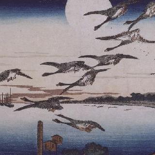 다카나와의 달 밤, 시리즈 : 동쪽 수도의 명소
