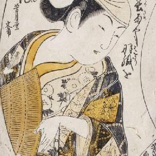 오나가타 (여장을 남자 배우)의 초상