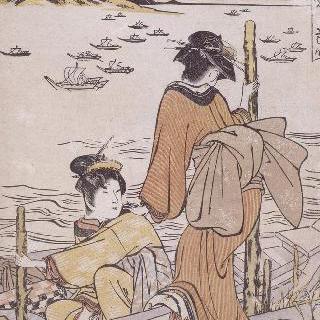 야바시로 들어가는 배, 시리즈 : 지방의 우아한 여덟 정경