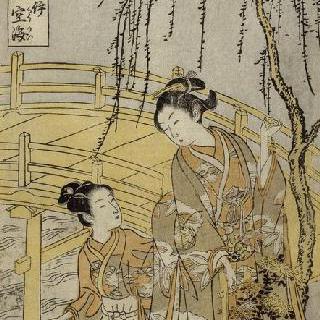 시리즈 : 바람에 나부끼는 세상의 타마가와 여섯 강. 키리 지방의 코야타마 강