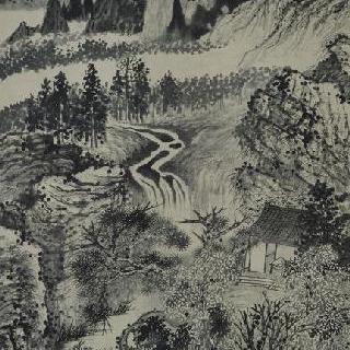 가을의 징팅 산, 또는 병에서 회복된 후의 첫 그림