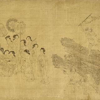 악마들의 엄마, 하리티의 전설 (고대 사본, 명 시대 말, 청 시대 초)