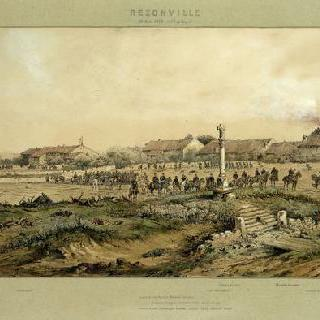 1870년 8월 16일, 저녁 7시의 레종빌