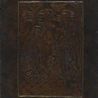 마리 드 부르고뉴의 고딕체 알파벳 : 표지