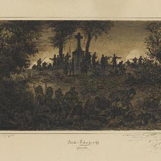 1870년 8월 6일 저녁 9시 스피크랭 전투