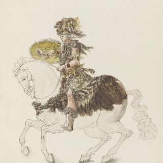 3권 : 연극축제 의상과 가면 무도회 의상. 루이 14세의 연극