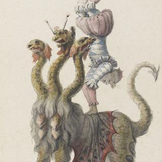 3권 : 연극축제 의상과 가면 무도회 의상. 루이 14세의 연극 : 아크로바트