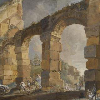 로마 수로의 폐허