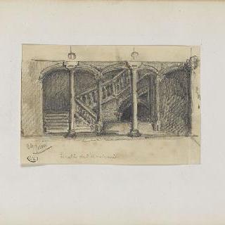 화첩 : 한림원의 계단