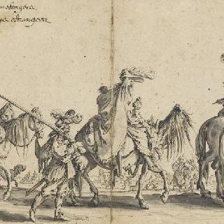 보헤미아 사람들의 행진