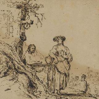 예수와 사마리아 여자
