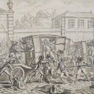 베르사유에서 희생된 오를레앙의 죄수들 : 1792년 9월 9일