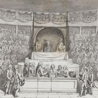 국민 의회 법정에 소환된 루이 16세 (1792년 12월 11일)