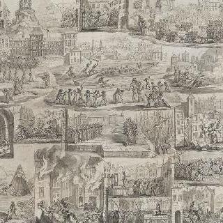 혁명기간 동안 저지른 죄의 일부 그림