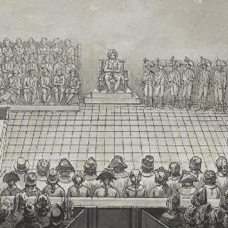 혁명 법정의 지롱드 당원들