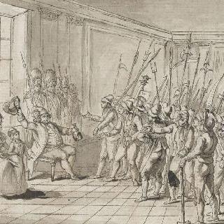 프랑스 왕과 포부르그의 하층 계급