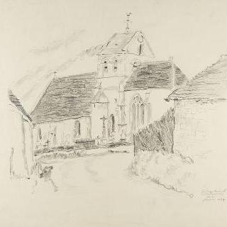 라텡빌의 시골 성당