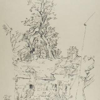 앙제르빌리에르의 가옥