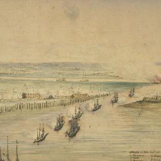 중국 원정 기간의 페이호 요새의 공격 (1858년 5월 20일)