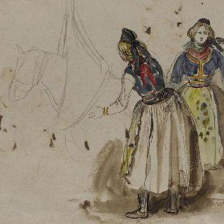 앨범 라래스 : 알자스 지방의 여인들