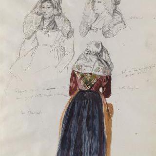 앨범 라래스 : 브르타뉴 지방의 플뢰르멜의 여인