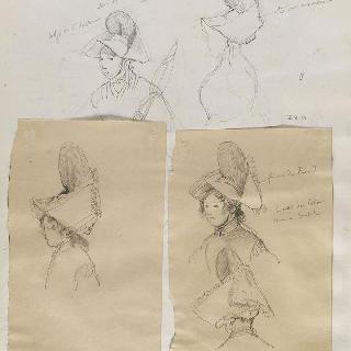 앨범 라래스 : 성세르방의 머리쓰개, 성말로와 부근의 여인