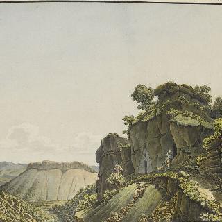 오쇼드 계곡 (작은 골짜기의 전경, 옛날 샘의 근원)