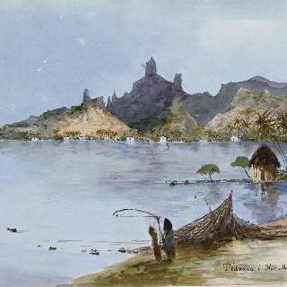 무레아섬의 티바로