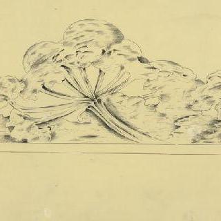 선반. 작은 목장의 베르스 : 정면 조각과 오려내기