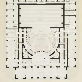 극장, 1층 도면