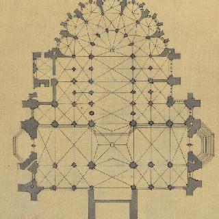 보베 대성당, 도면