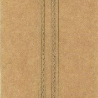 소매상 진열대 계획안, 등을 기댄 기둥의 절단면