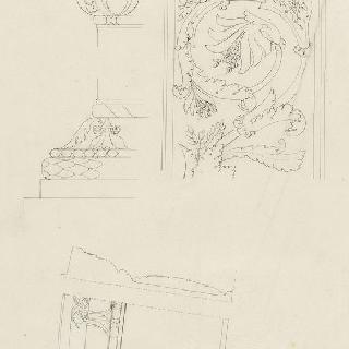오랑주리 극장, 아치의 세부 묘사