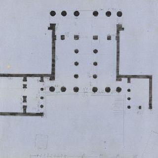 아테네 아크로폴리스의 프로필레아, 도면