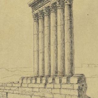 레바논 발베크의 대사원, 기둥